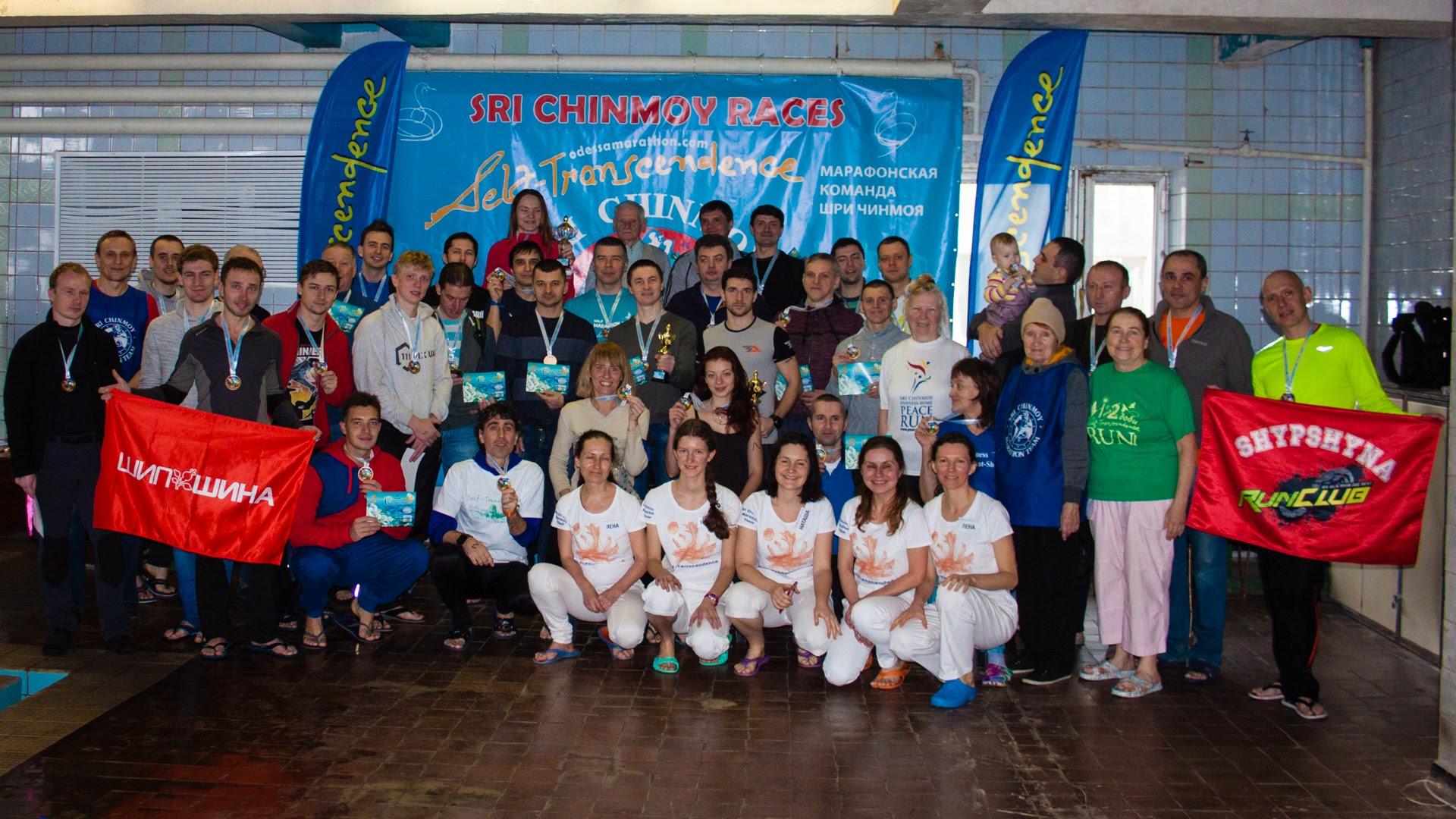Марафонские заплывы в Одессе